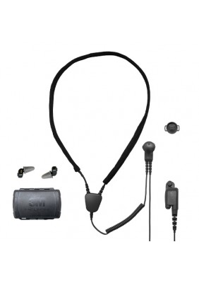 3M Peltor TEP-200 Tactical Earplug and AN275 Tactical Neck Loop Combo (Motorola APX Radio)