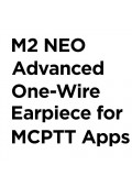 M2 NEO Advanced One-Wire Earpiece for FirstNet MCPTT Apps