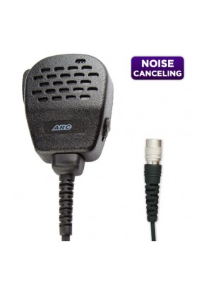 S12HR Series Noise Canceling IP54 Speaker Microphone (Hirose Connector)