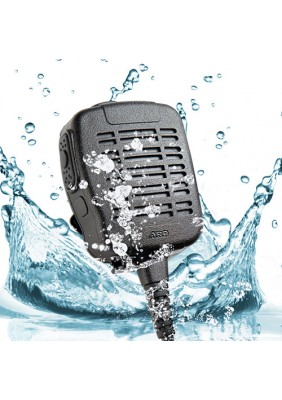 S21 Heavy Duty Water Dust Proof Speaker Mic (IP68 Rated)
