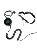 T25 Series Neck Strap Tactical Throat Microphone title=